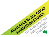 Available in all good hardware stores - Click here to find your nearest stockist!