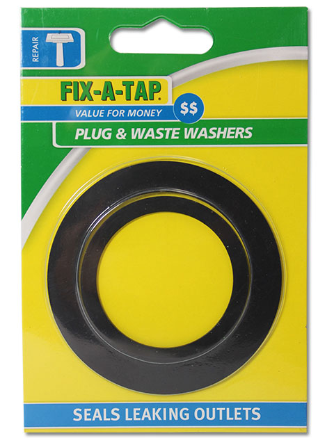 Plug and Waste Washer - FIX-A-TAP