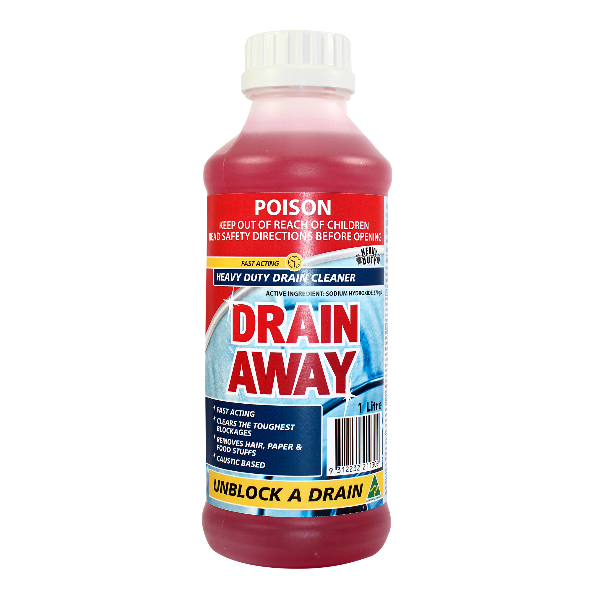 drain away caustic drain cleaner drain cleaning tools chemicals boston. Black Bedroom Furniture Sets. Home Design Ideas