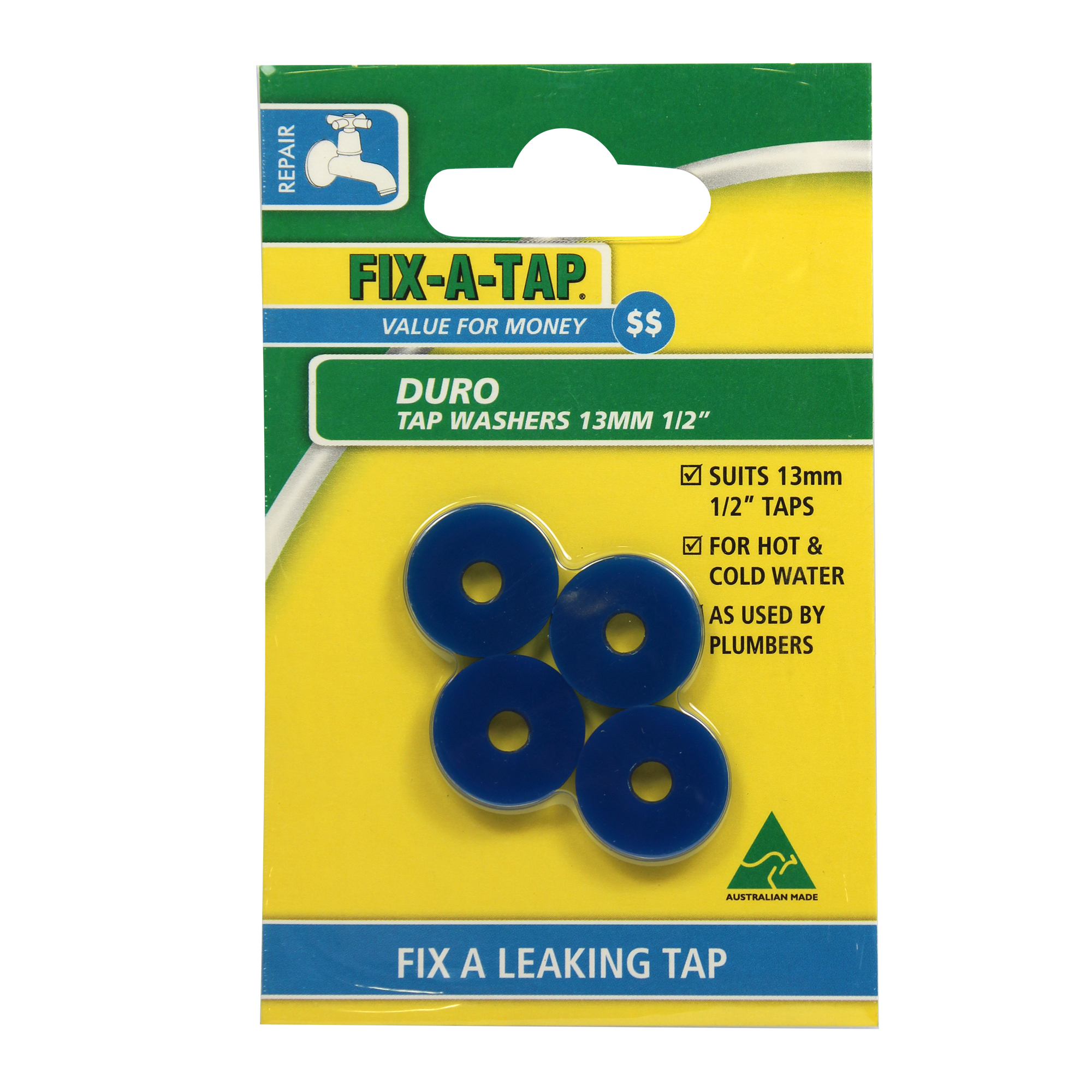 Duro Tap Washers - Tap Washers - FIX-A-TAP
