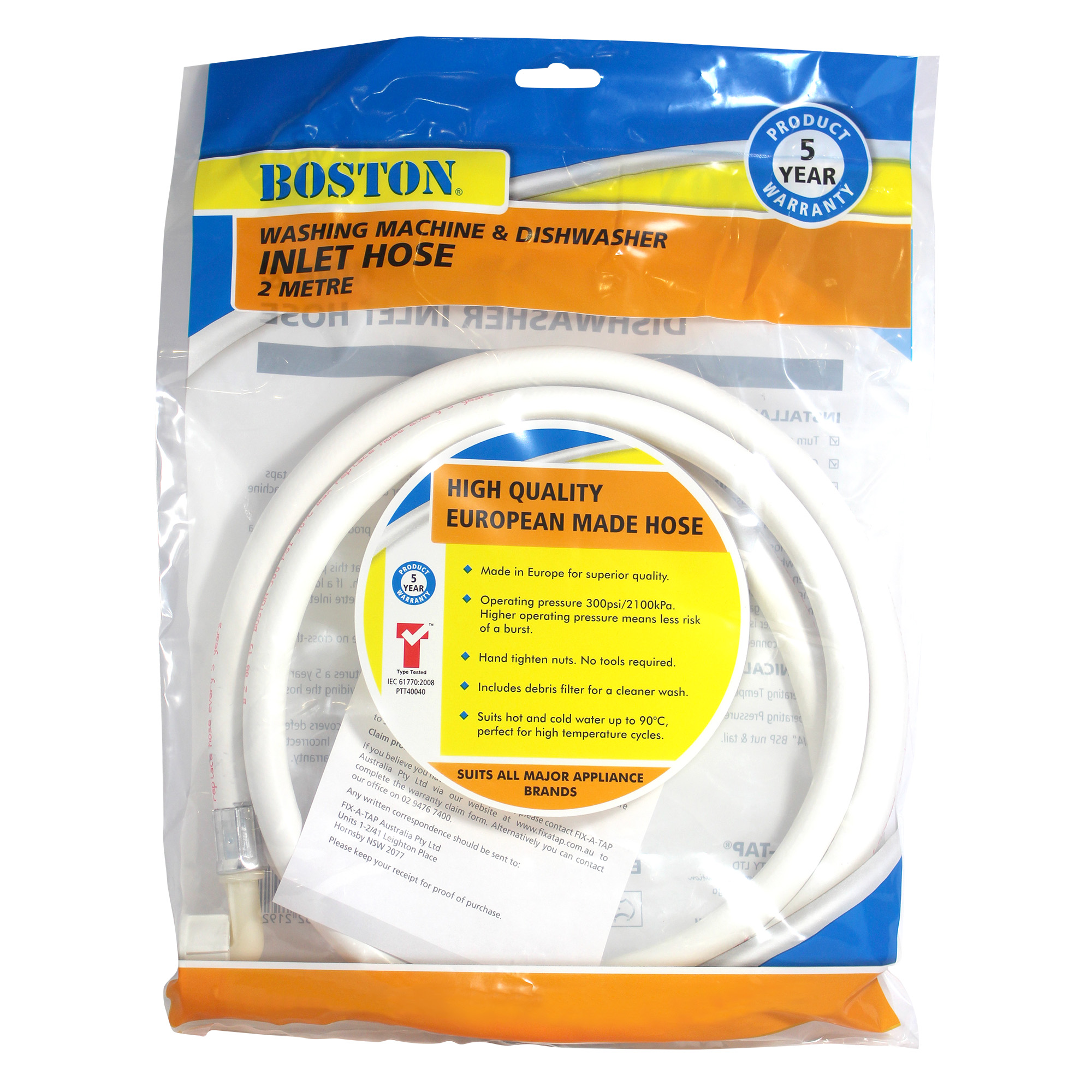 washing machine replacement hoses
