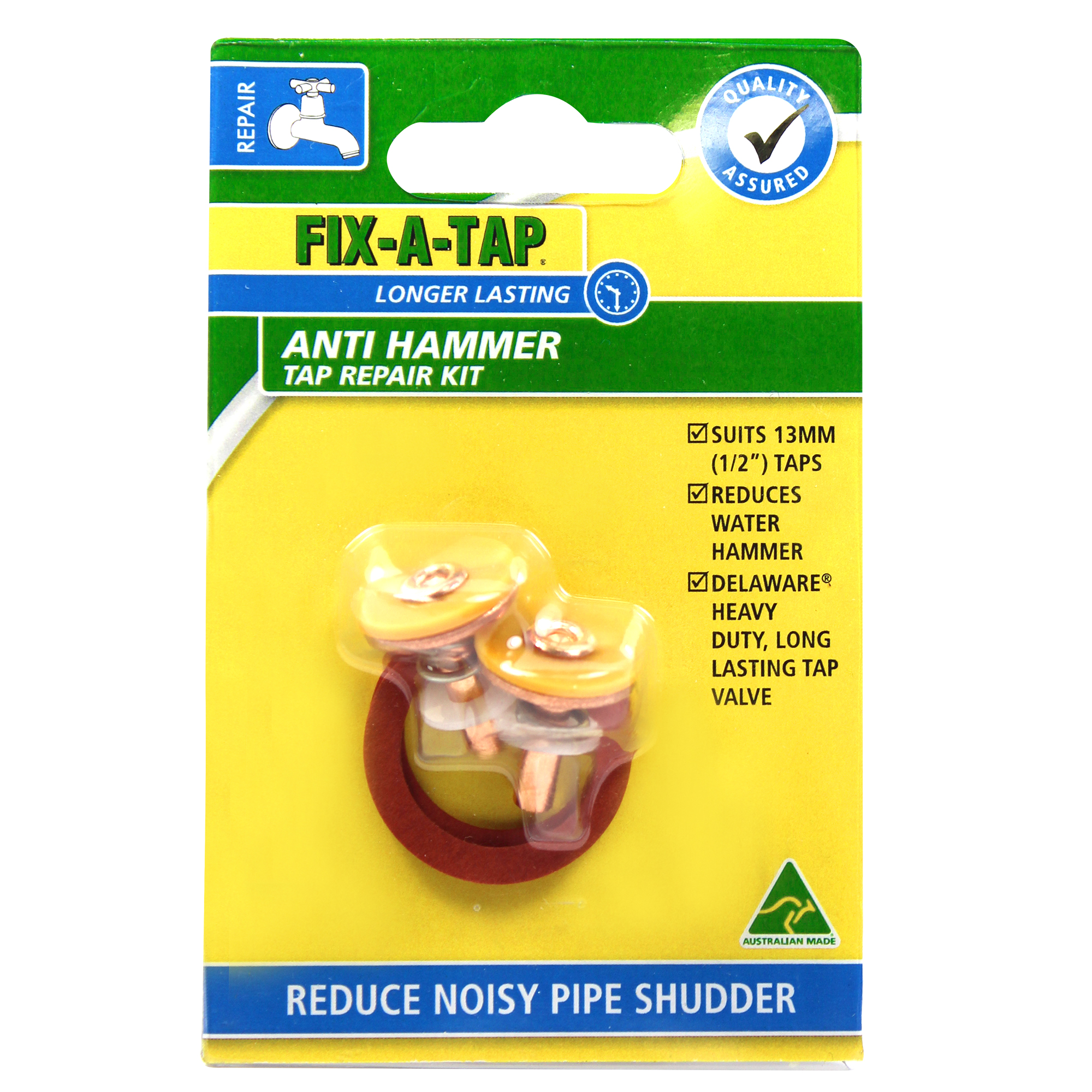 Anti-Hammer Tap Repair Kits - Tap Valve Repair Kits - FIX-A-TAP
