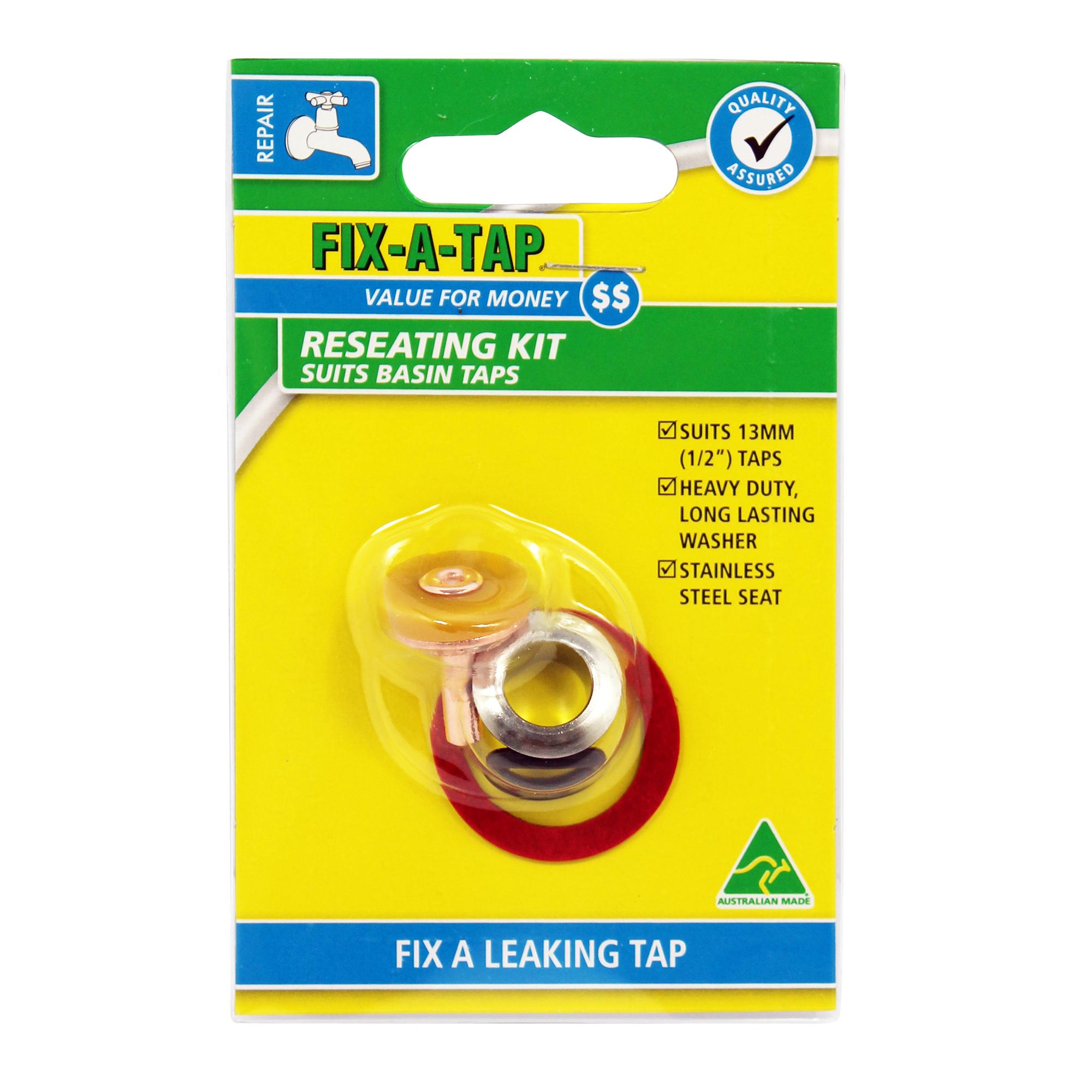 Tap Reseating Kits - Tap Valve Repair Kits - FIX-A-TAP