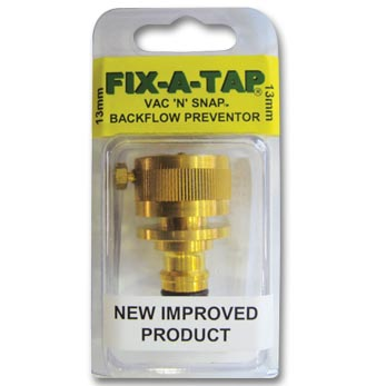 Backflow Prevention Valves Taps Fittings and Accessories FIX