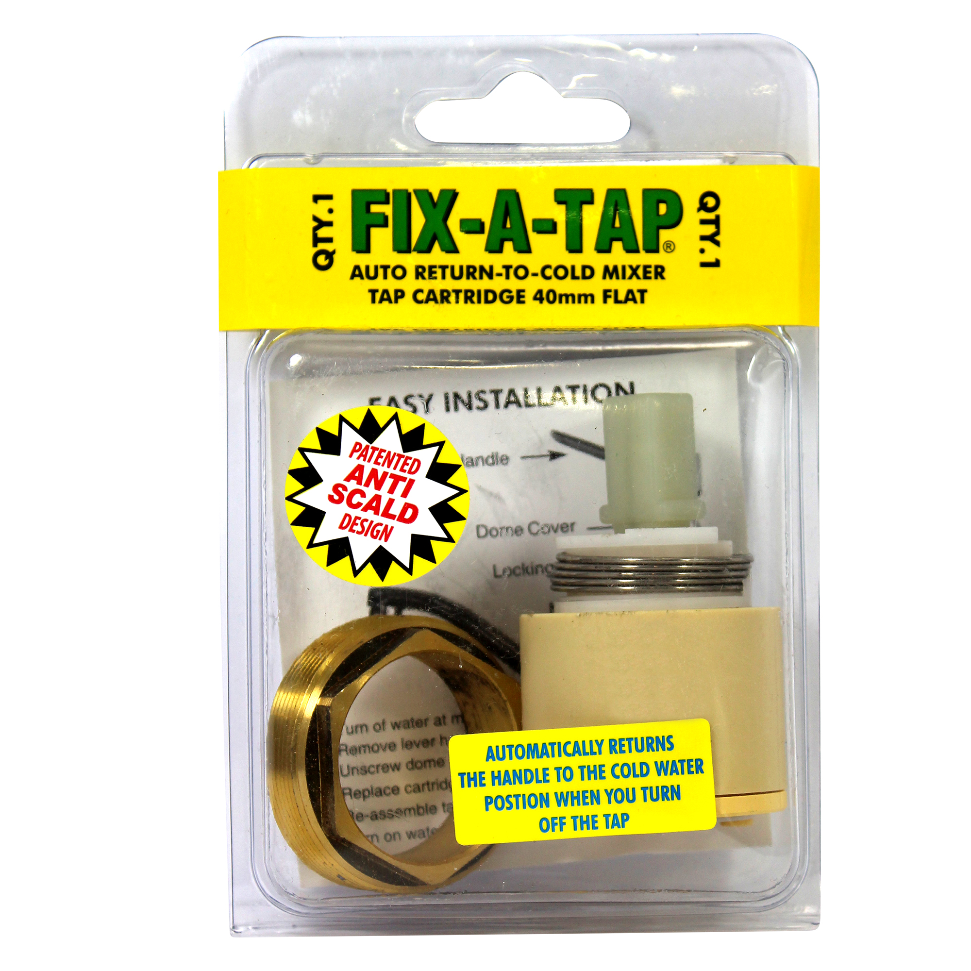 mixer tap cartridge 35mm flat fix a tap anti scald flat mixer cartridge