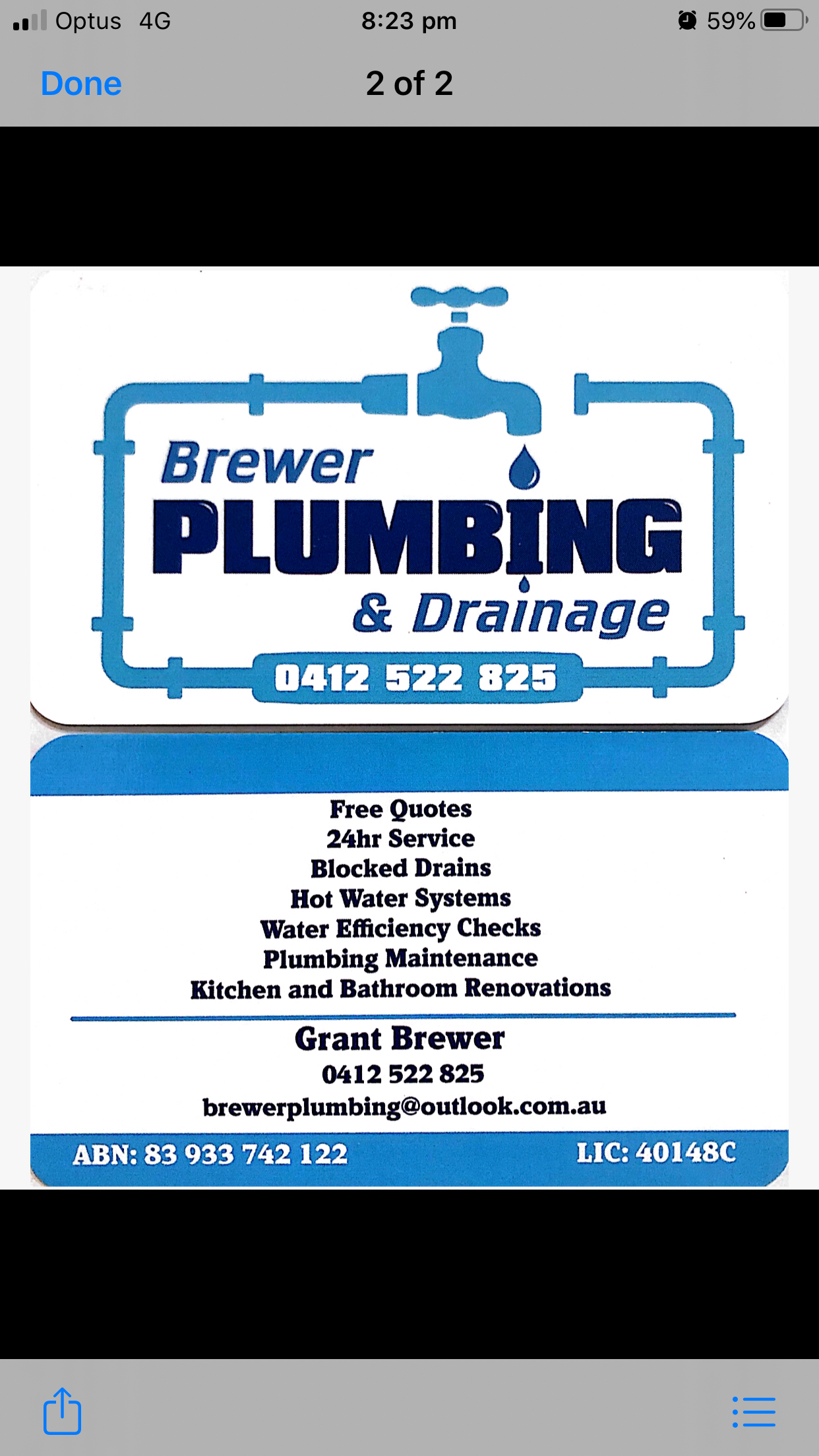 Brewer Plumbing & Drainage
