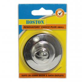 Renovators Choice Chrome Plated Brass Plug - Small