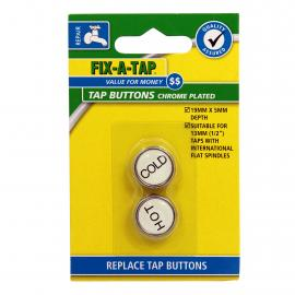 Tap Button Chrome Plated