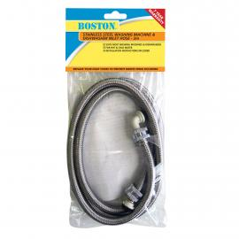 Washing Machine and Dishwasher Inlet Hose Stainless Steel