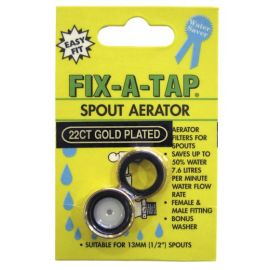 Female Aerator Gold Plated