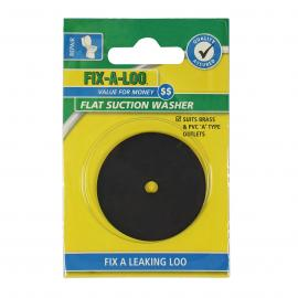 Flat Suction Washer - Suits Brass and PVC 'A' Type Outlets