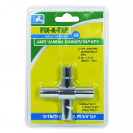 Anti Vandal 4 Way Garden Tap Key