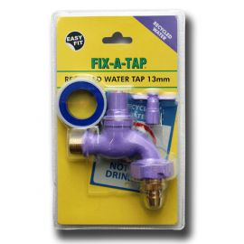 Grey Water Garden Tap - Lilac