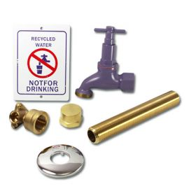 Recycled Water Tap Kit 5/8""