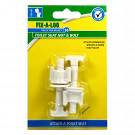 Toilet Seat Nut & Bolt - Suits Spotless and Monk