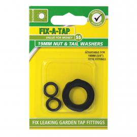Nut & Tail Washers 19mm