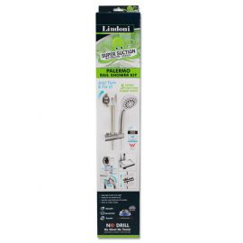 Palermo Super Suction Rail Shower Kit